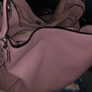 Coach Purse (pink with floral design)